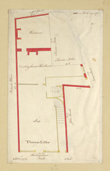 [Plan of a Property on Watling Street] 210-D